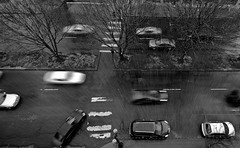 Rainy Day - PDX (Orbmiser) Tags: bw oregon portland nikon lightroom sigma1020mm d40 sigma1020mmf456exdchsm