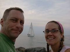 DR & TK take a break in Port Dalhousie, ON (Netwoman) Tags: portdalhousie