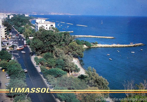 Aerial view of Limassol, Cyprus