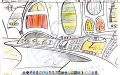 July 2008' Desktop (Nelson Biagio Jr) Tags: wallpaper apple june macintosh screenshot mac osx leopard macosx 2008 papeldeparede junho capturadetela macbook macmagazine macosxleopard