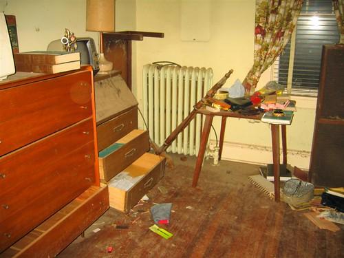 The backup master bedroom