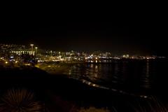 Costa Adeje at night (michaelgrohe) Tags: ocean sea vacation costa holiday beach island meer kanaren canarias atlantic tenerife teneriffa riu inseln adeje
