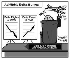 7 23 08 Cincinnati Airport Delta Fares (Bearman2007) Tags: airport cincinnati cartoon delta bearman flights cvg editorialcartoon fares bearmancartoon cincinnatibeacon cincinnatinorthernkentuckyairport