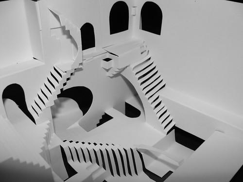 Escher Papercraft