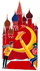 To Russia With Fries (Mark H. Adams) Tags: art illustration russia fries gouache markhadams