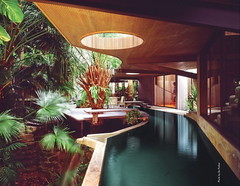Woodsong (Stewf) Tags: home pool architecture swimmingpool tropical 1970s residence residential integration midcenturymodern