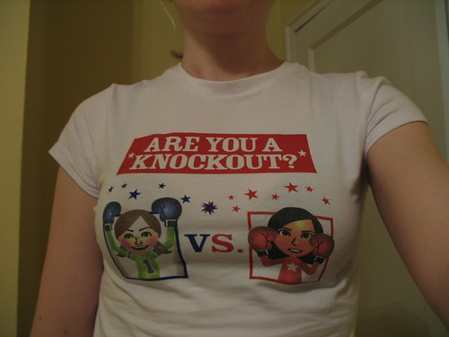 Wii Boxing T-shirt