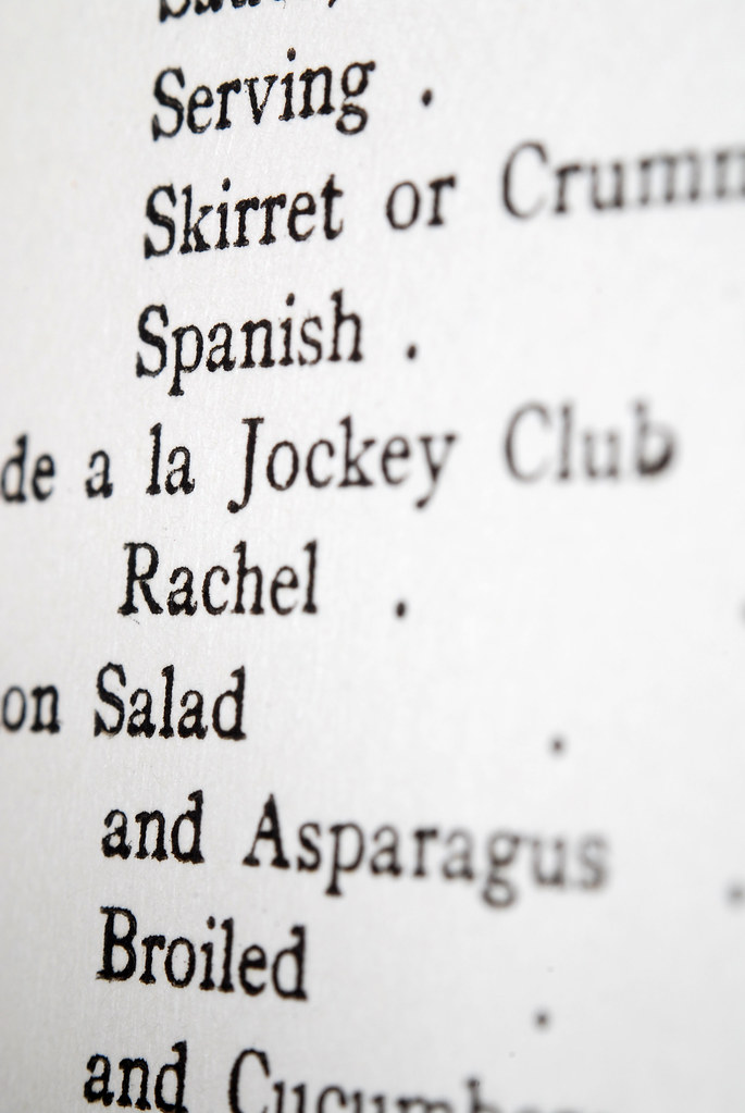 Index from The American Salad Book - Macro