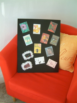 Sample Display Board