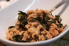 spicy tuna and seaweed
