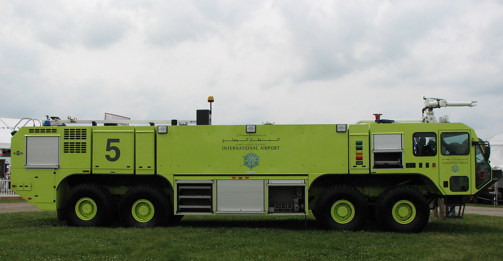 OshKosh Striker 10E Aircraft Rescue and Fire Fighting Vehicle
