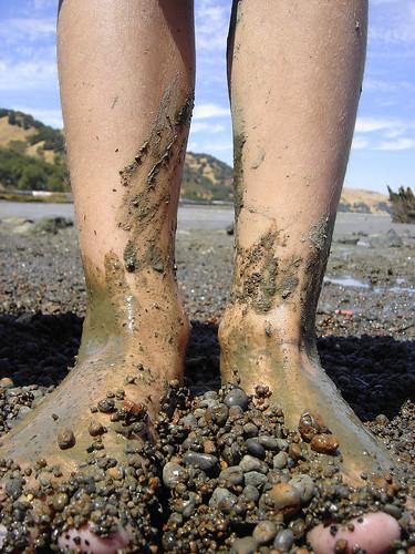 Jacks muddy feet
