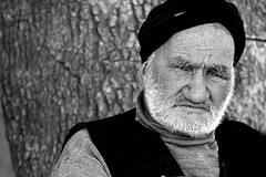 (HORIZON) Tags: old portrait people blackandwhite bw man men face portraits persian photographer faces iran horizon persia portraiture iranian blancinegre khorasan peoplepix 40d canoneos40d khorasanerazaviprovince canon24105mmf4lisusmlens exposuretime160 fnumber45 focallenght93