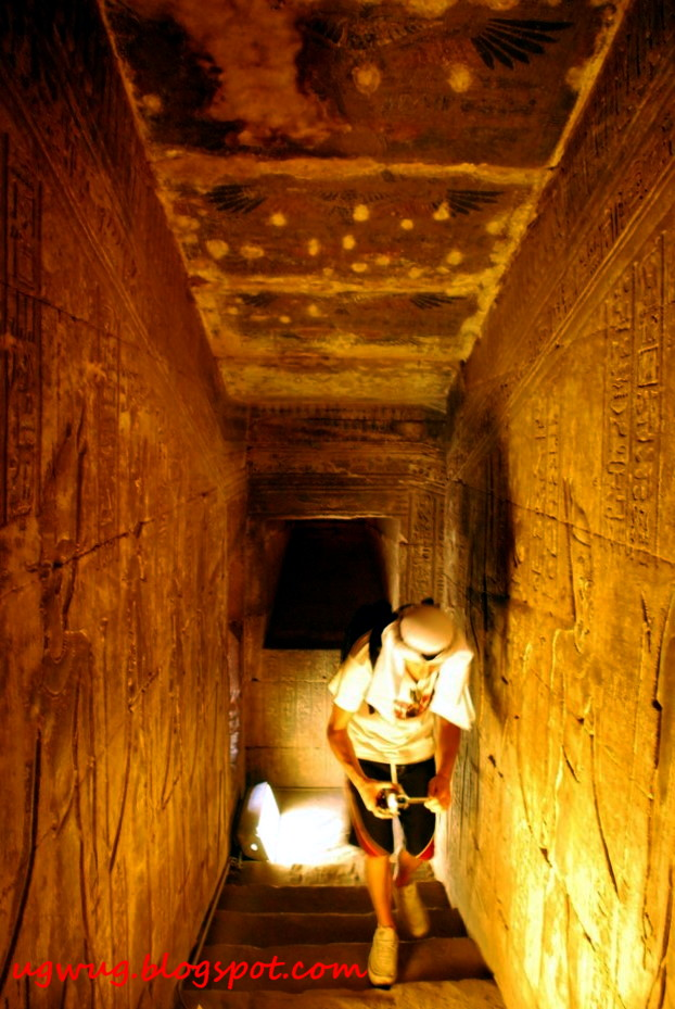 Inside Temple Of Edfu