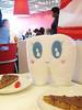 A Swedish Treat! (Spok-spok) Tags: newyork cute ikea smile shopping dessert fun toy happy design cool soft candy sweet sweden designer chocolate guesswherenyc treats swedish plush softie cuddly kawaii plushie giggling spok designertoy designerplush spoks almondy spokspok toofhairy dajmpie spökspök