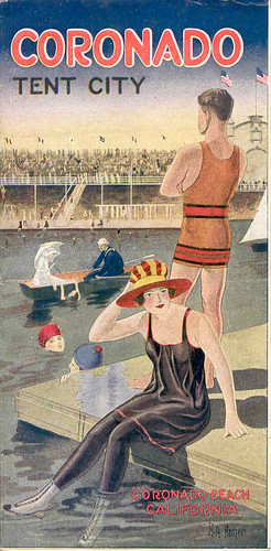 Coronado Tent City flier, 1919
