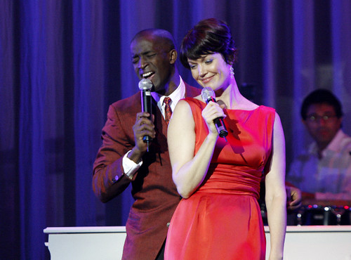 ... for Hairspray's Elijah Kelley and Dirty Sexy Money's Bellamy Young, ...