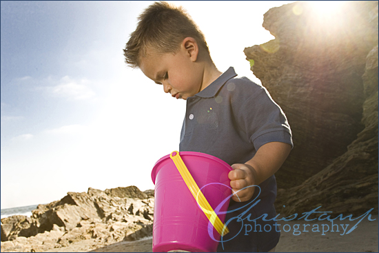ChristanP Photo - Playing in the sand