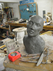 becoming a man (mereshadow) Tags: man for lips creation clay form ecstasy seeking searching