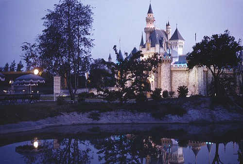 Disneyland, circa late 1950s, Photo courtesy Orange County Archives, Creative Commons: Attribution 2