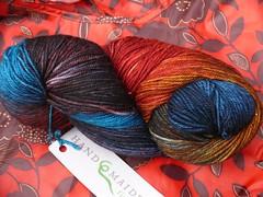 Handmaiden Casbah (wool/cashmere/nylon)