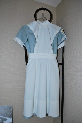 old nursing uniform