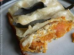 Squash, ri&cotta  sage pasta bake