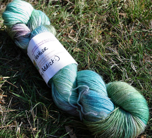 "September Wool Dye for Ewe shipment ""Spinning Addict"""