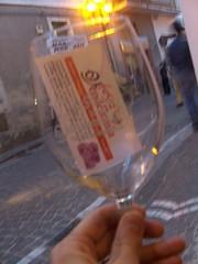 Bicchiere festa della vendemmia (piazzettaonline) Tags: di casale carinola piazzettaonline