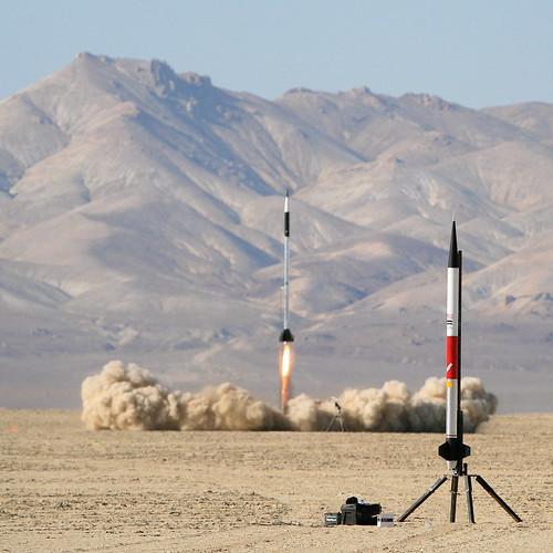 Hybrid R-motor Launch