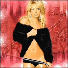 Britney Spears [Glamour] ( Omar Rodriguez V.) Tags: red woman black hot sexy art diamonds lights photo artwork glamour shiny shoot princess spears circus coat fake makeup style piercing queen jewellery popart fairy fantasy earrings draw blackout photoshot omar edition 2008 britney 2009 vector edit rodriguez rollingstone jewel corel photopaint inthezone womanizer slave4britney