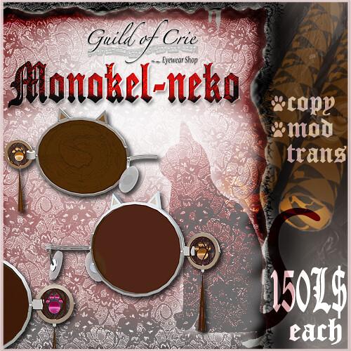 """""""Monokel-neko(Cat-Monokel(=^. .^=))"""""""