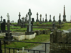 "Ennistymon Graveyard • <a style=""font-size:0.8em;"" href=""http://www.flickr.com/photos/75673891@N00/2923036966/"" target=""_blank"">View on Flickr</a>"
