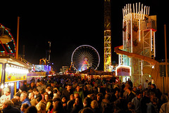 Hull Fair  October 2008 (keithhull) Tags: england people night lights colours fairground yorkshire shapes fair noflash explore rides hull crowds abigfave goldstaraward explorewinnersoftheworld seeninexplore1410200882