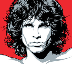 Jim Morrison Face Art (Mel Marcelo) Tags: portrait face illustration vectorart icon grafx jimmorrison graphicarts thedoors adobeillustrator melmarcelo meltendo mpyregraphics melitomarcelo