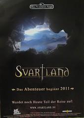 """Flyer zum geplanten DSA-Kinofilm """"Svartland"""""""