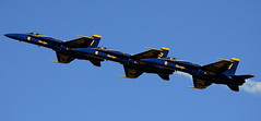 form an orderly queue (jay j wilkie) Tags: florida airplanes airshow planes jacksonville blueangels stunt airfield nasjax