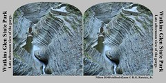Watkins Glen Gorge (rexp2) Tags: statepark vacation ny newyork nature water waterfall 3d personal tripod gorge stereopair parallel fingerlakes watkinsglen stereophotomaker holmescard nikond300