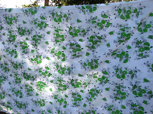 Green flower sheet