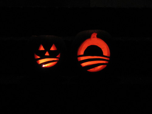 Bright Barack-o-lanterns