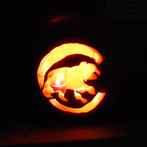 Cubs Pumpkin