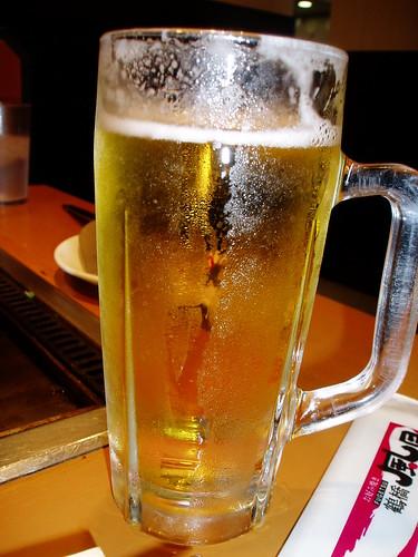 你拍攝的 啤酒~。