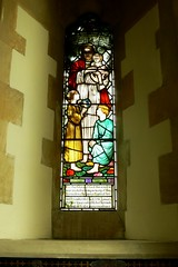 1940s memorial window St. Esprit Marton