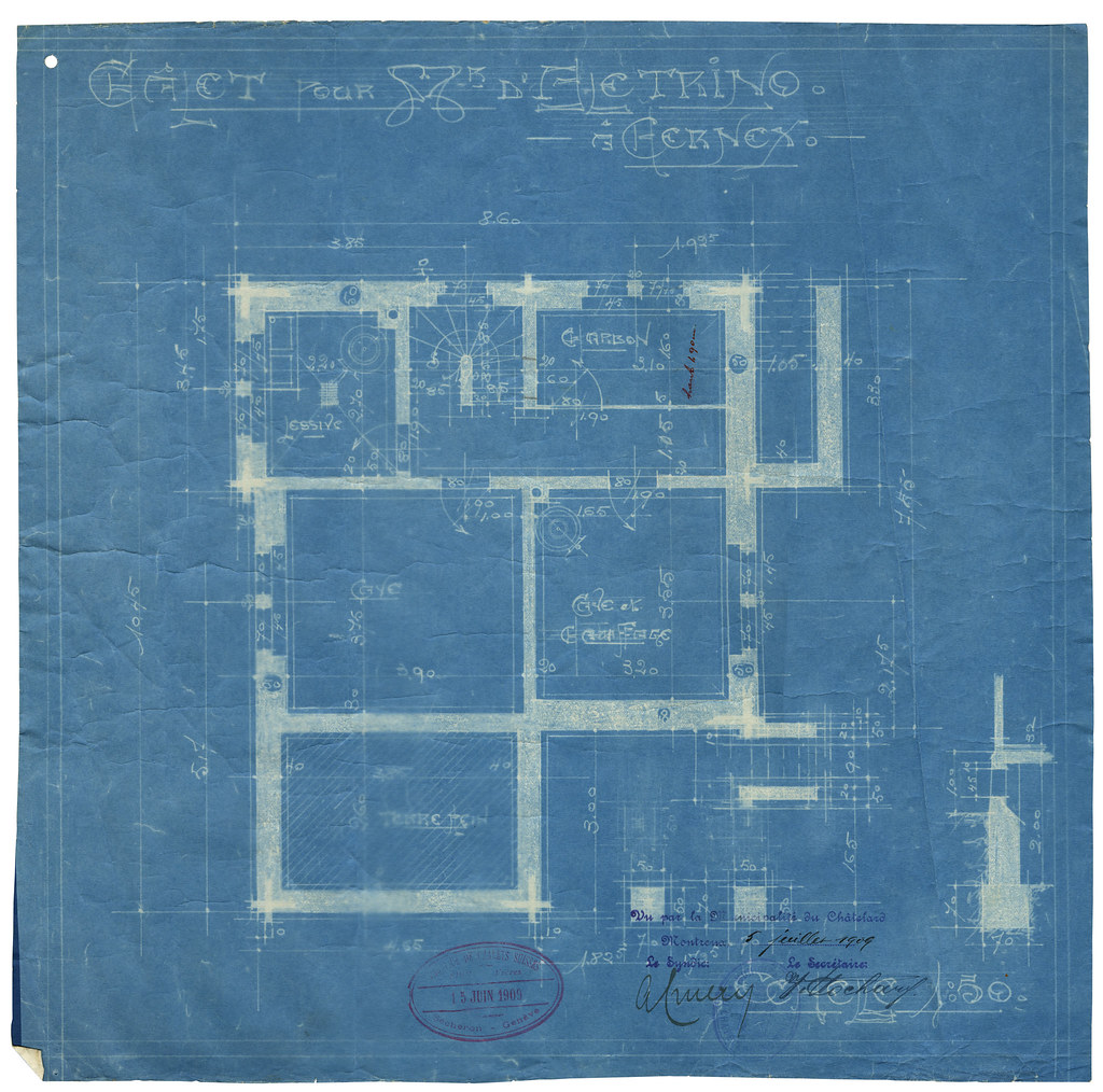 Basement blueprint