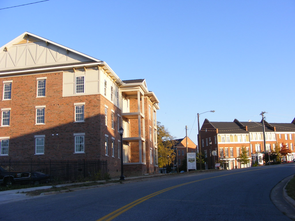 Southside In Downtown Greensboro Upscale Inner City