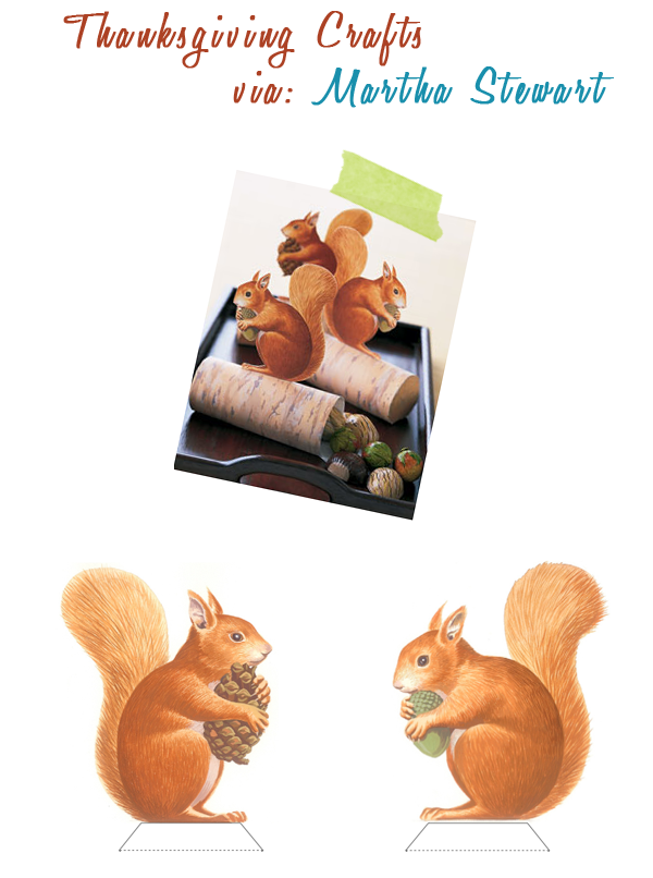martha stewart squirrels