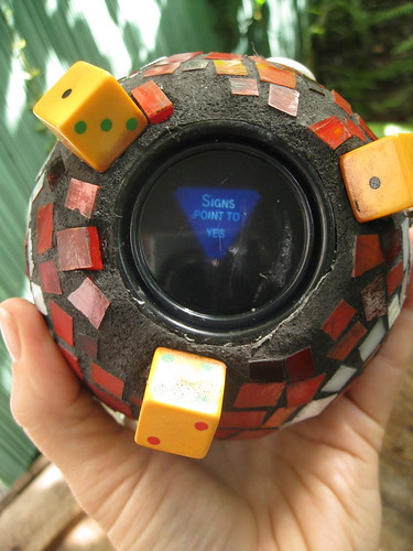 Mosaic Magic 8-Ball