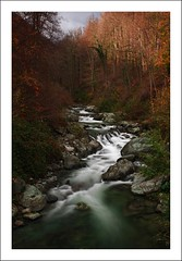 viana (*jos*) Tags: longexposure italy water creek landscape italia autunno paesaggi viu bosco waterflow torrente vi vallidilanzo vallediviu valadedlans valledivi