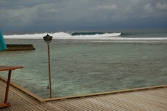 The hotel dream left. (Blackstallionhills.com) Tags: travel perfect paradise surf waves wave surfing exotic left maldives locations