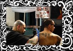 Arte Tattoo '08 (nicomike) Tags: argentina rock metal tattoo blood buenosaires colours shadows arte moda tribal colores hardcore vida estilo cultura tinta sangre dolor pelo agujas tatuajes acrilico konex convencion escrache ciudadcultural
